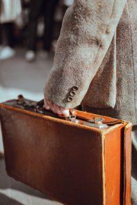 Briefcase for work
